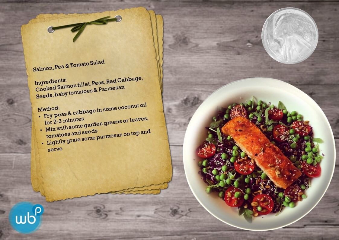 Salmon & Pea Salad